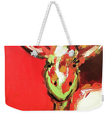 Giselle The Giraffe Weekender Tote Bag by Gallery Messina