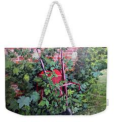 Give And Take Weekender Tote Bag