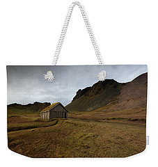 Give Me Shelter Weekender Tote Bag