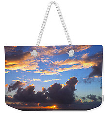 Give Us This Day Weekender Tote Bag
