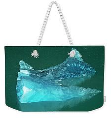 Glacial Ice Weekender Tote Bag