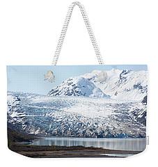 Glacier Beach Weekender Tote Bag
