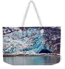 Glacier Cave Weekender Tote Bag