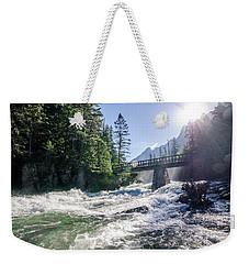 Glacier National Park Beauty Weekender Tote Bag