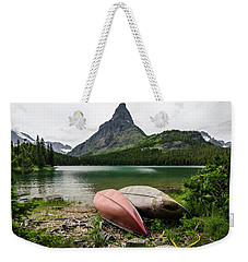 Weekender Tote Bag featuring the photograph Glacier National Park by Margaret Pitcher