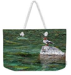 Glacier Loon Weekender Tote Bag