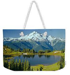 1m4422-glacier Peak, Wa  Weekender Tote Bag