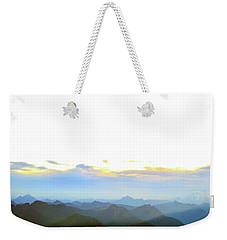 Glacier Peak At Sunrise Weekender Tote Bag