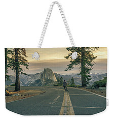 Glacier Point Adventure Weekender Tote Bag by Alpha Wanderlust
