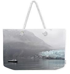Glacier Ride Weekender Tote Bag