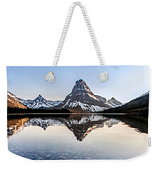 Weekender Tote Bag featuring the photograph Glacier Skittles by Aaron Aldrich