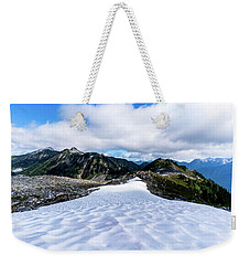Glaciers At North Cascades Weekender Tote Bag