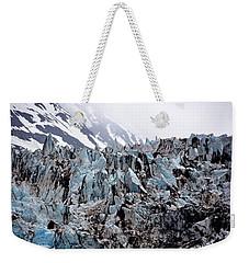 Glaciers Closeup - Alaska Weekender Tote Bag