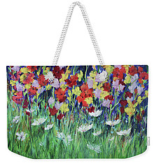 Glad All Over Weekender Tote Bag by Lee Beuther