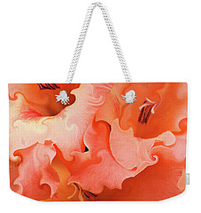 Weekender Tote Bag featuring the photograph Glad by Kristin Elmquist