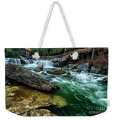 Glade Creek And Grist Mill Weekender Tote Bag