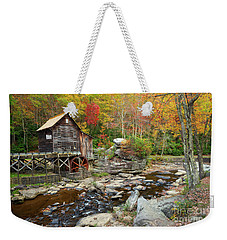 Glade Creek Grist Mill In Autumn Weekender Tote Bag