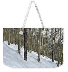 Gladed Run Weekender Tote Bag