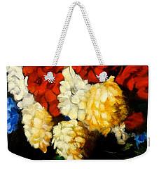 Gladiolas Weekender Tote Bag