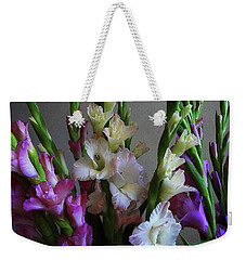 Gladiolus By The Window Weekender Tote Bag