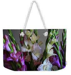 Gladiolus By The Window Weekender Tote Bag