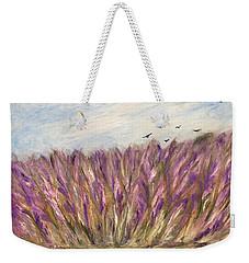 Gladiolus Field Weekender Tote Bag