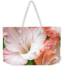 Gladiolus Ruffles  Weekender Tote Bag