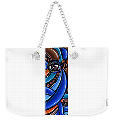 Glamorous - Abstract Painting - Eye Art - Ai P. Nilson Weekender Tote Bag