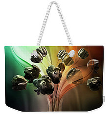 Glasblower's Tulips Weekender Tote Bag