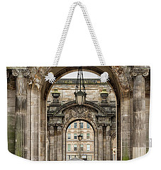 Glasgow City Chambers Side Entrance Weekender Tote Bag