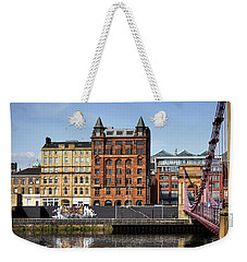 Weekender Tote Bag featuring the photograph Glasgow by Jeremy Lavender Photography