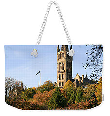 Glasgow University Weekender Tote Bag by Liz Leyden