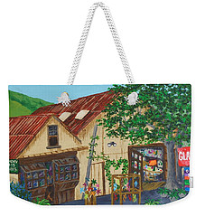 Glass Blower Shop Harmony California Weekender Tote Bag