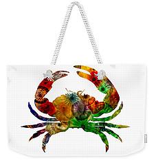 Glass Crab Weekender Tote Bag
