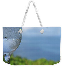 Glass Half Full Weekender Tote Bag