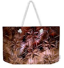Glass Impressions Weekender Tote Bag by Lori Seaman