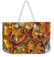 Glass Lady Weekender Tote Bag by Sarah Loft