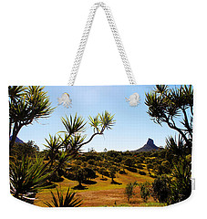 Glass Mountains Weekender Tote Bag