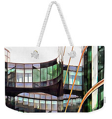 Glass Movement Weekender Tote Bag