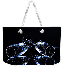 Glass Of Shampagne Weekender Tote Bag