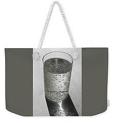 Glass Of Water Weekender Tote Bag