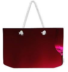 Glass Of Wine Weekender Tote Bag