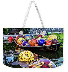 Glass On Display Weekender Tote Bag