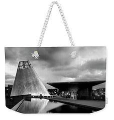 Weekender Tote Bag featuring the photograph Glass by Ryan Manuel
