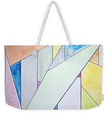Glass-scrapers Weekender Tote Bag by J R Seymour