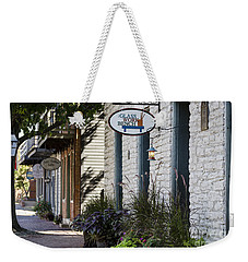 Glass Work Bench Weekender Tote Bag