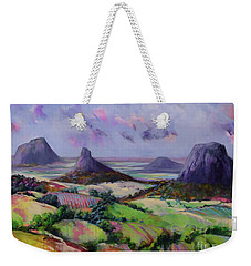 Glasshouse Mountains Dreaming Weekender Tote Bag