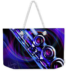 Glassical Flute Weekender Tote Bag
