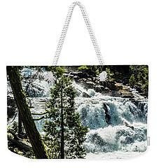 Glen Alpine Falls 1 Weekender Tote Bag