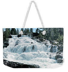 Glen Alpine Falls Mist Weekender Tote Bag